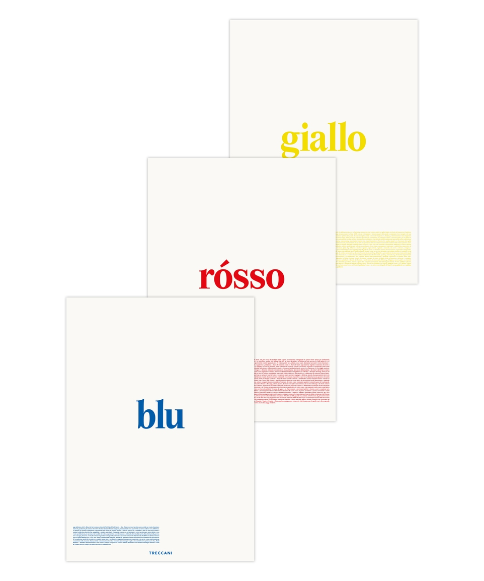 Set Poster Colori
