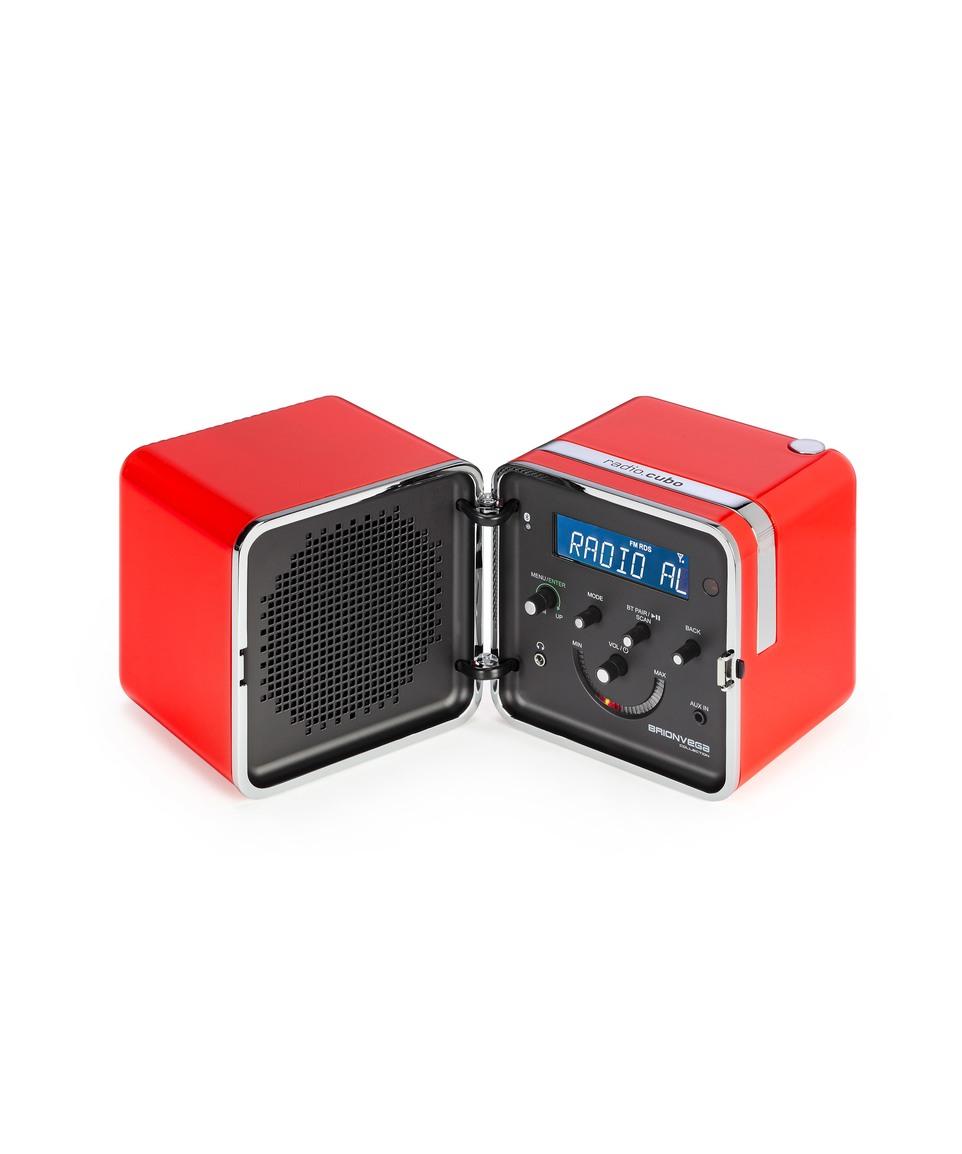 Radio Cubo 50th anniversary Arancio Sole