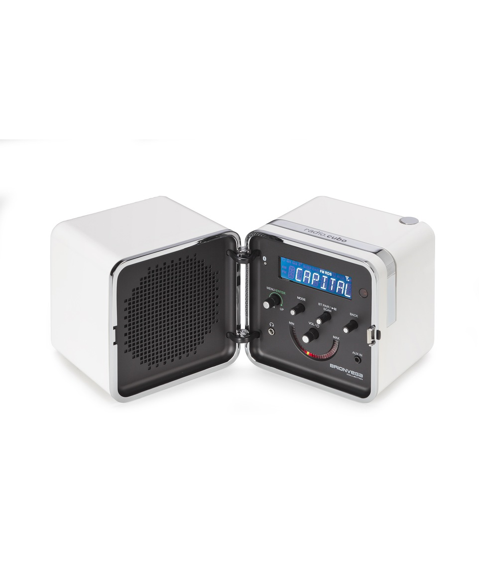 Radio Cubo 50th anniversary Bianco neve