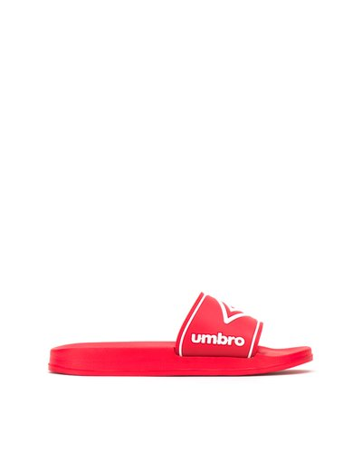 Slippers with moulded footbed - Red