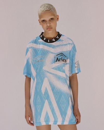 Aries x Umbro - Short sleeve football top