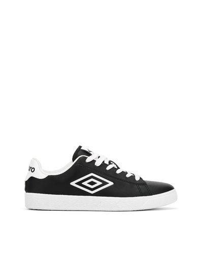 Bristol – Sneakers basse in pelle sintetica - Nero E Bianco