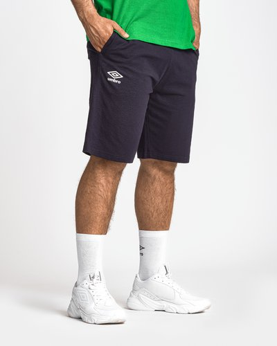 Basic jersey shorts with logo