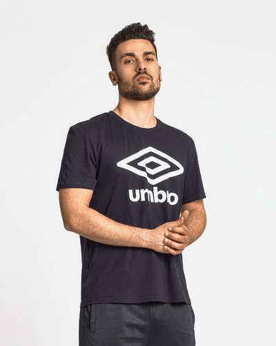 Cotton t-shirt with logo - Blue
