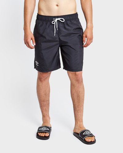 Beach short with contrasting laces
