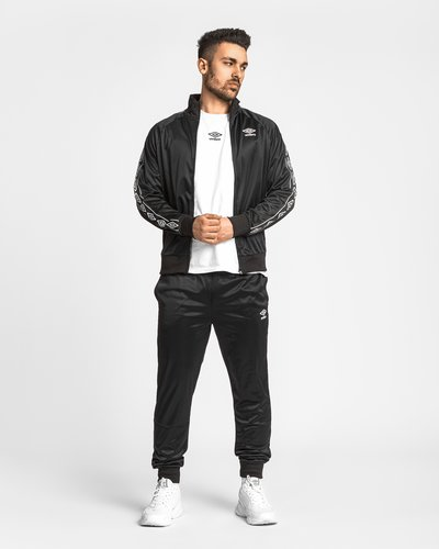 Polyester full zip with logo