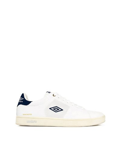 Manchester UK classic lace-up sneakers with logo