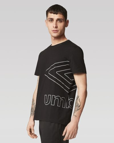 Reflective big logo t-shirt - Black