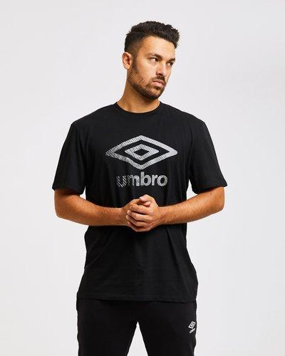 T-shirt con stampa effetto olografico