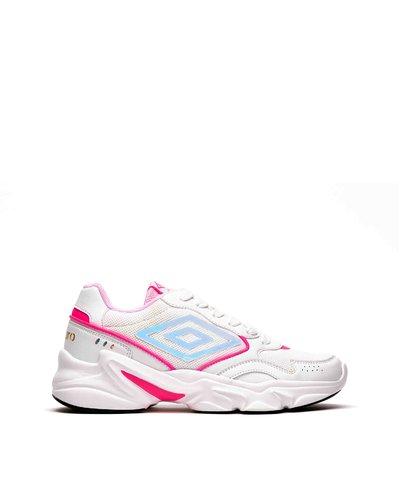 Hi-Bounce W – Panel design chunky sneakers