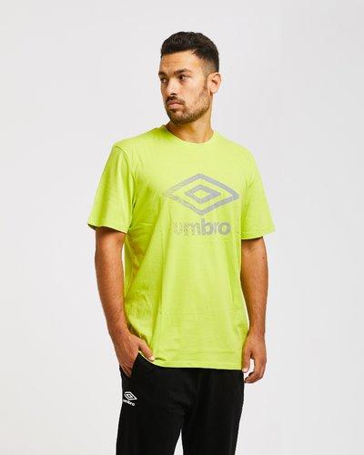 T-shirt con stampa effetto olografico - Verde Lime