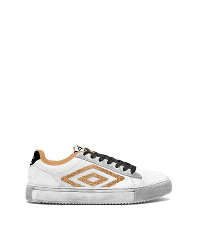 Dust Low W – Used effect sneakers - Gold
