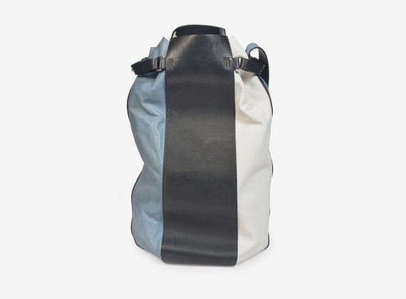 Sac à main multicolore en cuir