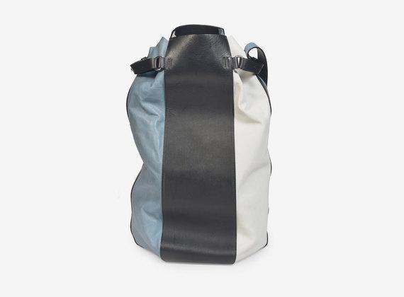 Mehrfarbige Leder-Handtasche