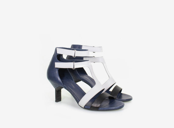 Double strapped sandal