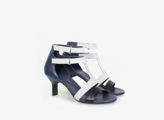 Sandale à doubles lanières