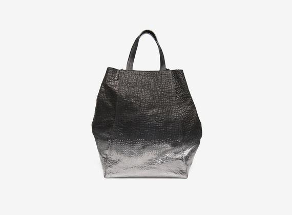 Shopping bag metallizzata