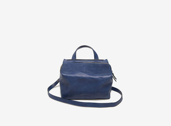 Kubo shoulder bag small blu