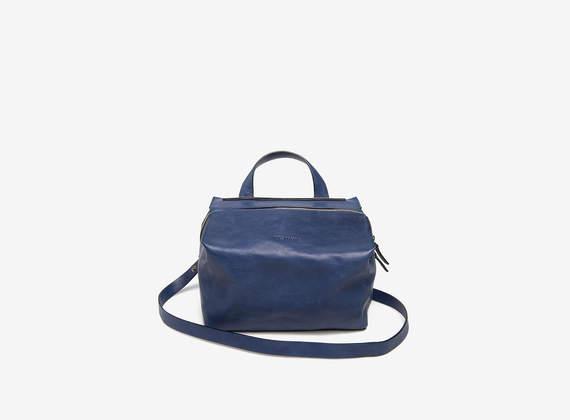 Kubo shoulder bag small blu