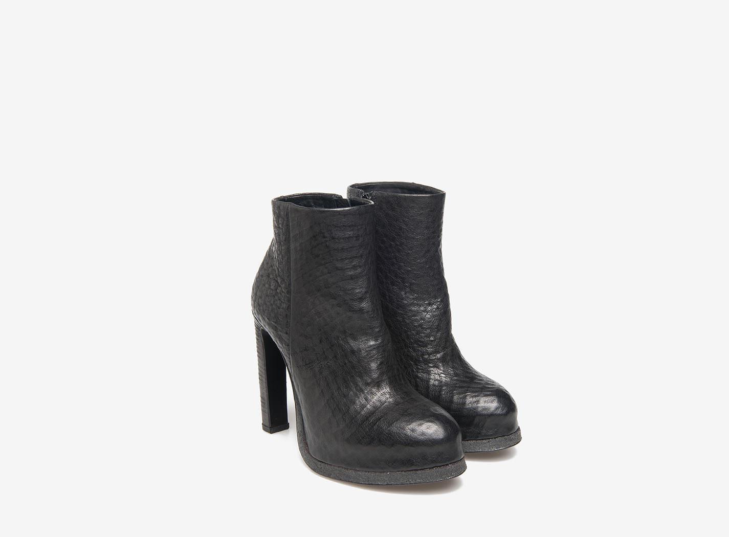 noires avec crêpe plateforme noires Bottines Bottines gf76by