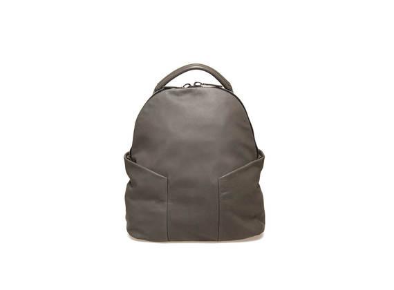 Militärgrüner Rucksack mit Seitentaschen
