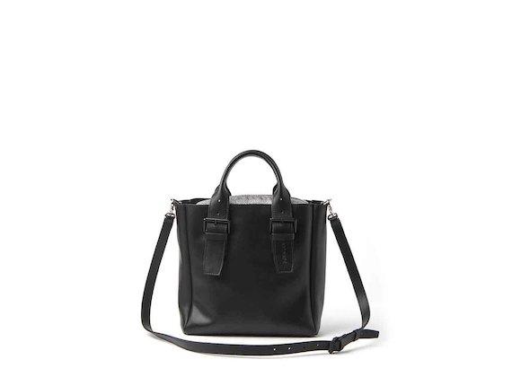 Anna<br />mini shopper bag with buckles