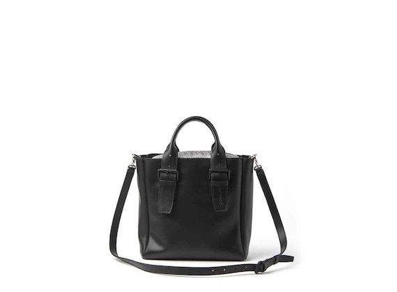 Anna<br />mini shopper bag with buckles