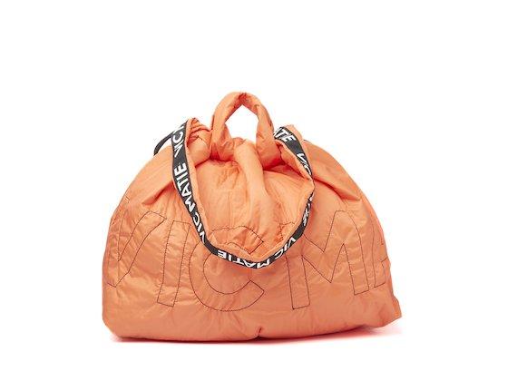 Penelope <br />Orange reversible backpack