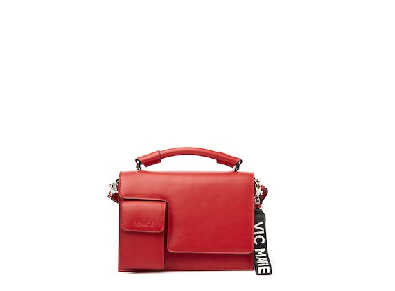 Corinne<br />Red satchel
