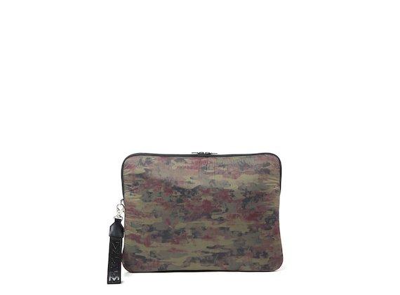 Geo<br>Housse pour ordinateur portable imprimé camouflage - Multicolore