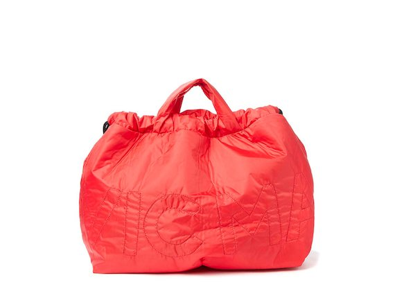 Penelope<br>Red nylon foldaway bag