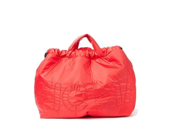 Penelope<br>Red nylon foldaway bag