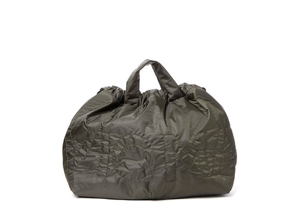 Penelope<br>Green nylon foldaway bag