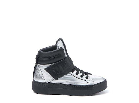 Sneakers argent - Argent