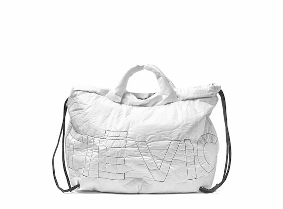 Penelope<br />Collapsible white backpack