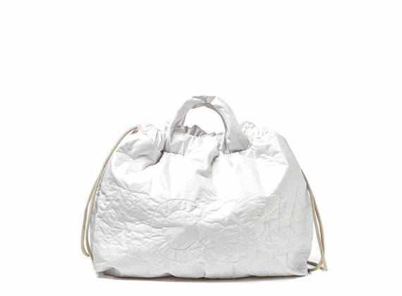 Penelope<br />Borsa zaino off-white richiudibile