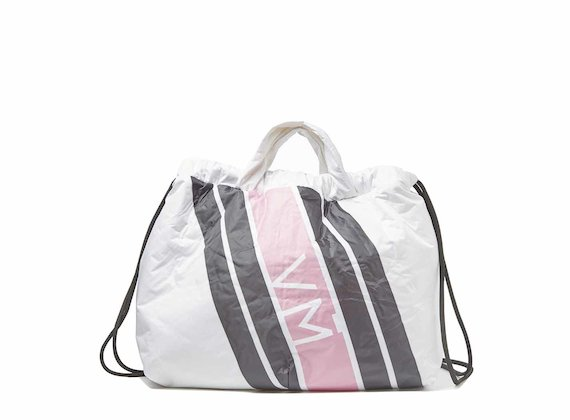Penelope<br />Collapsible backpack with pink print