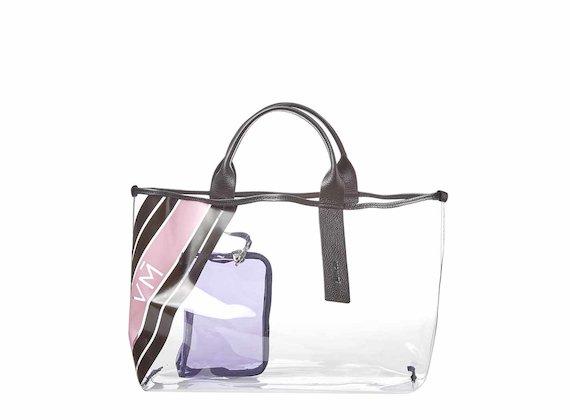 Jo<br />Shopping bag in PVC - Multicolore