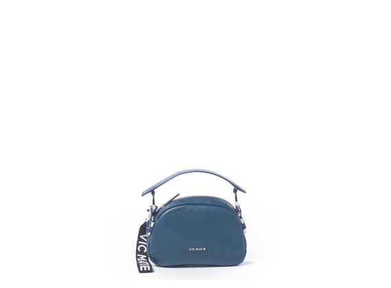 Babs Small<br> green mini bag with rings.