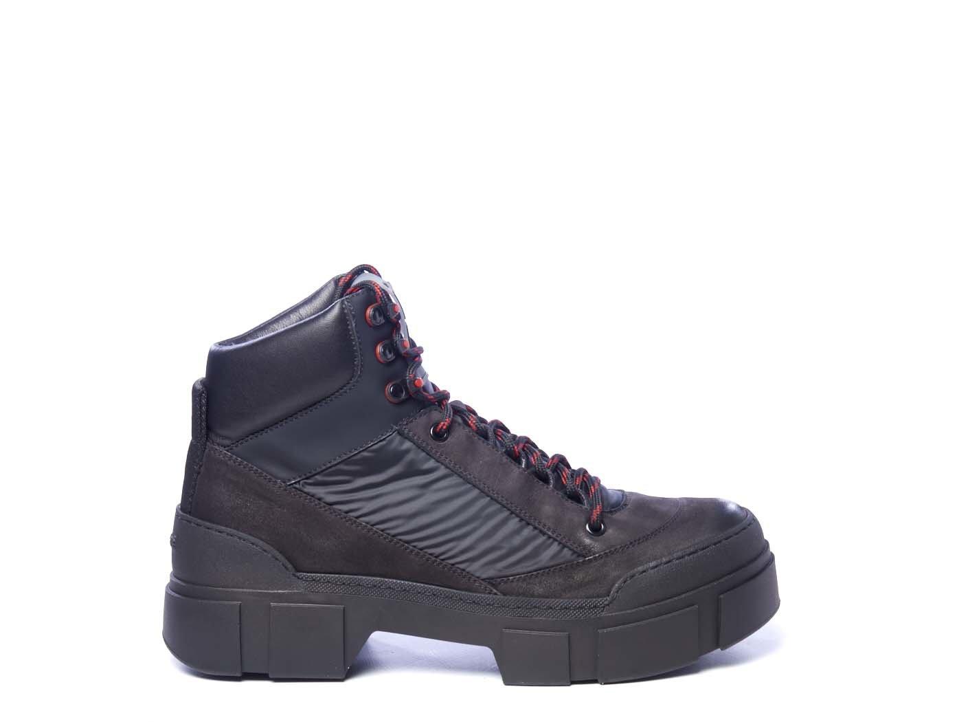nubuck leather walking boots