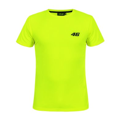 T-shirt Core large 46 giallo fluo