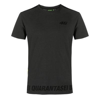 T-shirt Core QUARANTASEI - Gris Anthracite