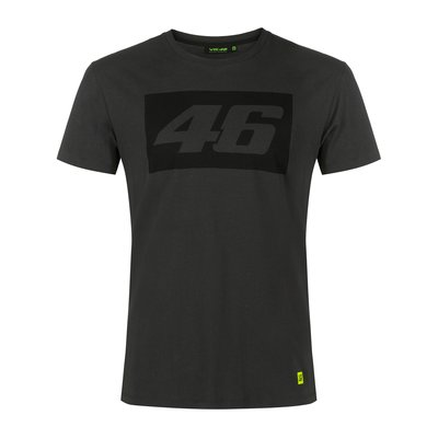 T-shirt Core 46 a contrasto grigio