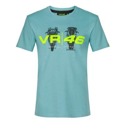 T-shirt VR46 Box - Aigue-Marine