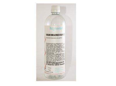Hidroalcohol higienizante 1L - Pack 45 uno. -4.94€/u (sin IVA)