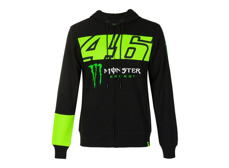 Sweat-shirt Monster VR46 - Black