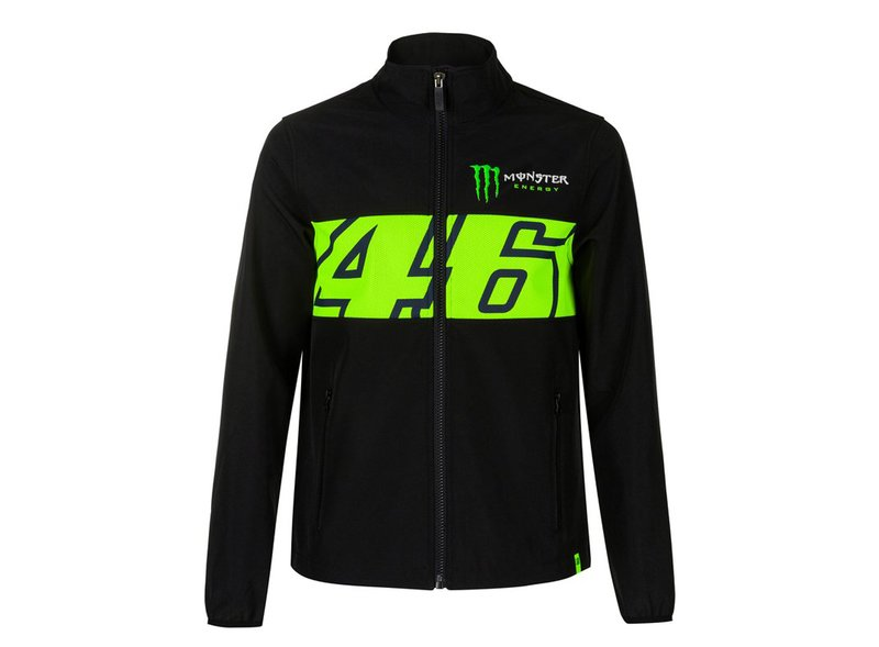 Monster Valentino Rossi waterproof jacket - Black