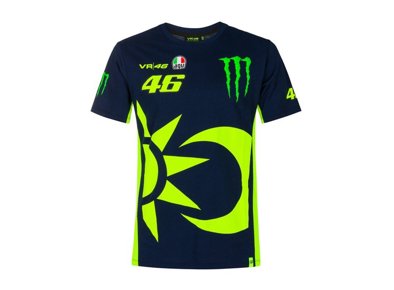 Valentino Rossi Monster Replica T-shirt - Blue