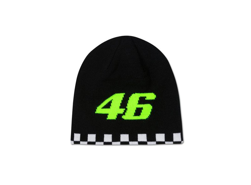 Valentino Rossi 46 Children's Beanie Double Face - Blue