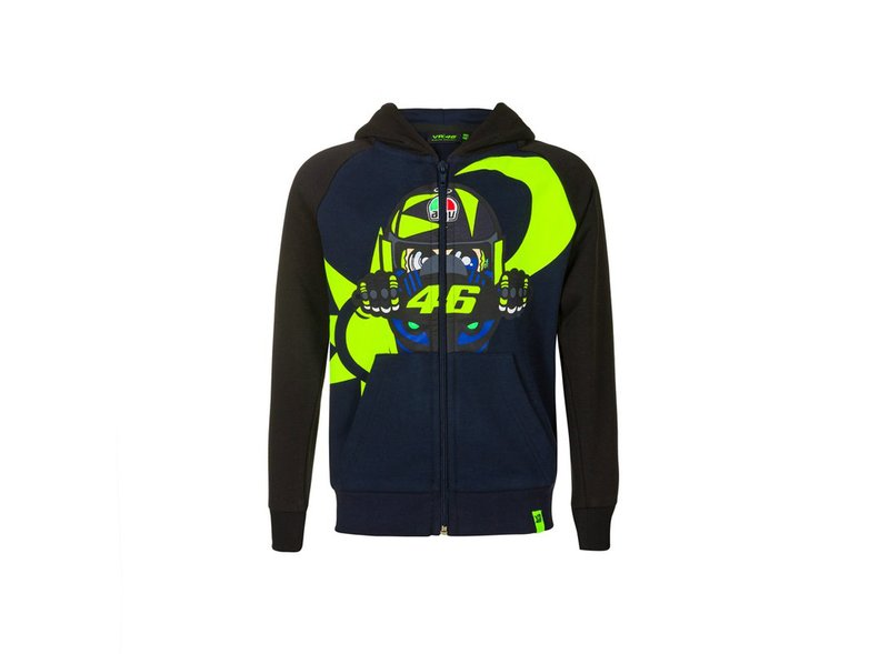 Sweat-shirt enfant VR46 Helmet AGV - Blue